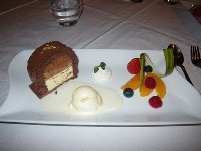 3 kinds of chocolate mousse