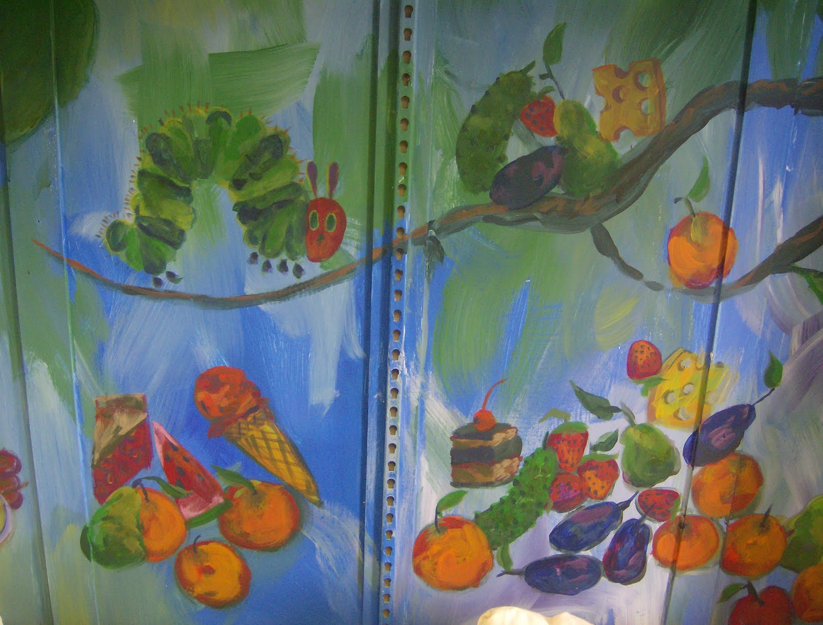 Homegrown murals for Eric carle mural