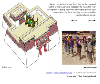 Building a Tibetan temple