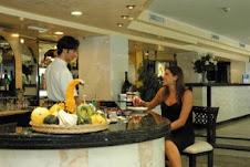 Il bar dell'Hotel Borgo Marina