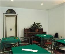 Saletta dove si può giocare a carte