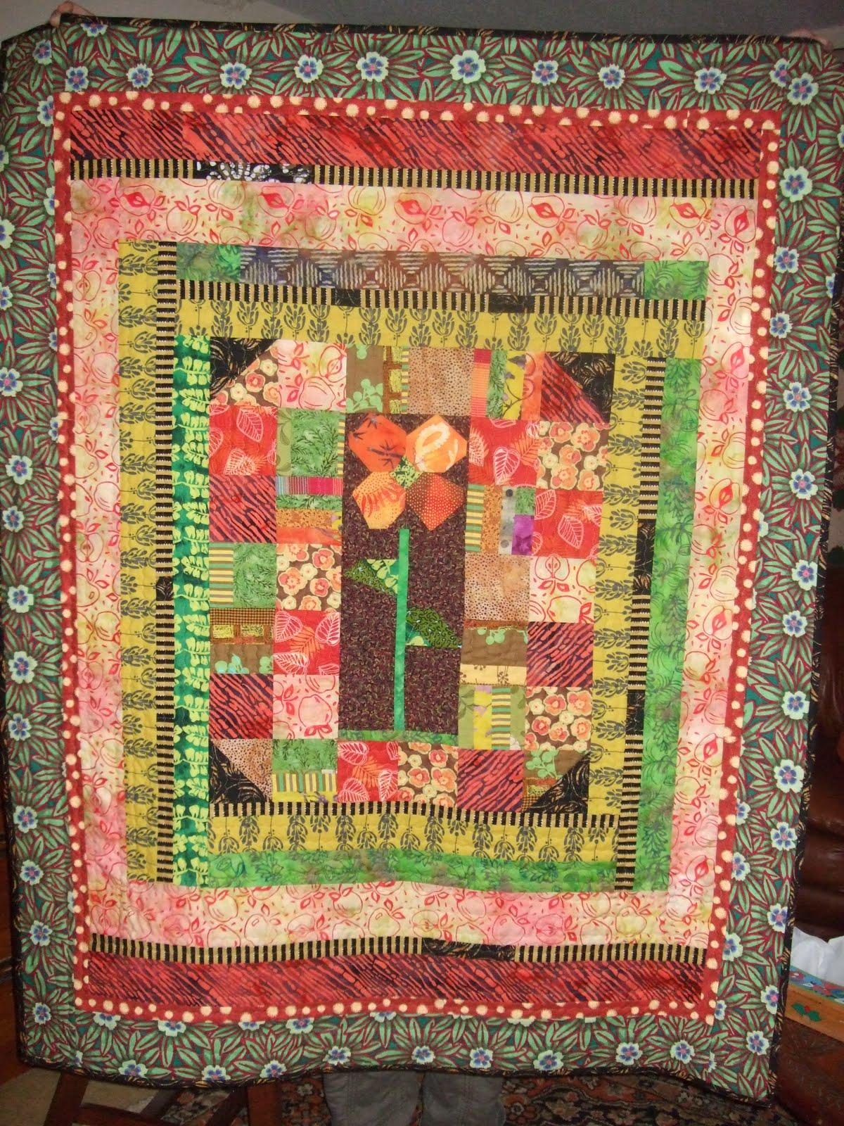 O 39 Quilts My Homemade Garden Quilt