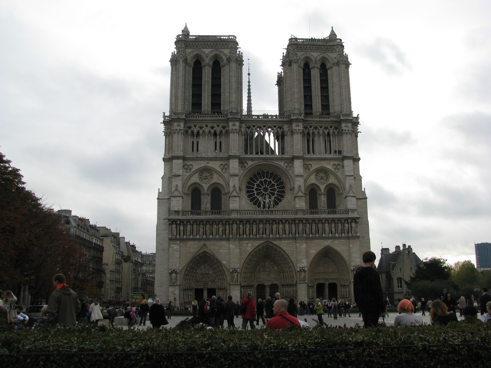 Notre dame is probably one of the most famous cathedrals in the world it took over 200 years to built and was one of the first gothic cathedrals to feature