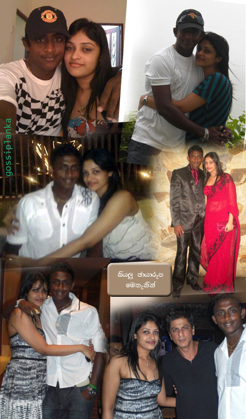 Ajantha Mendis with a Magic Girl