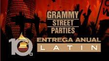 LATIN GRAMMY STREET PARTIES