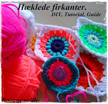 DIY hæklede firkanter.