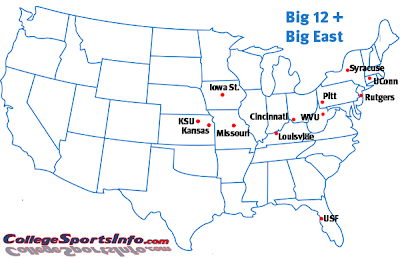 big12 bigeast Whats Next for the Remains of the Big 12: A Look at Some Options