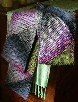 Ann Norling Patterns - 69 - Short Row Multi-directional Scarf