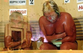 Russo morre em final de campeonato de sauna