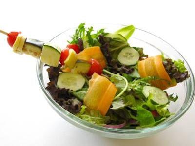 Receita Light de Salada