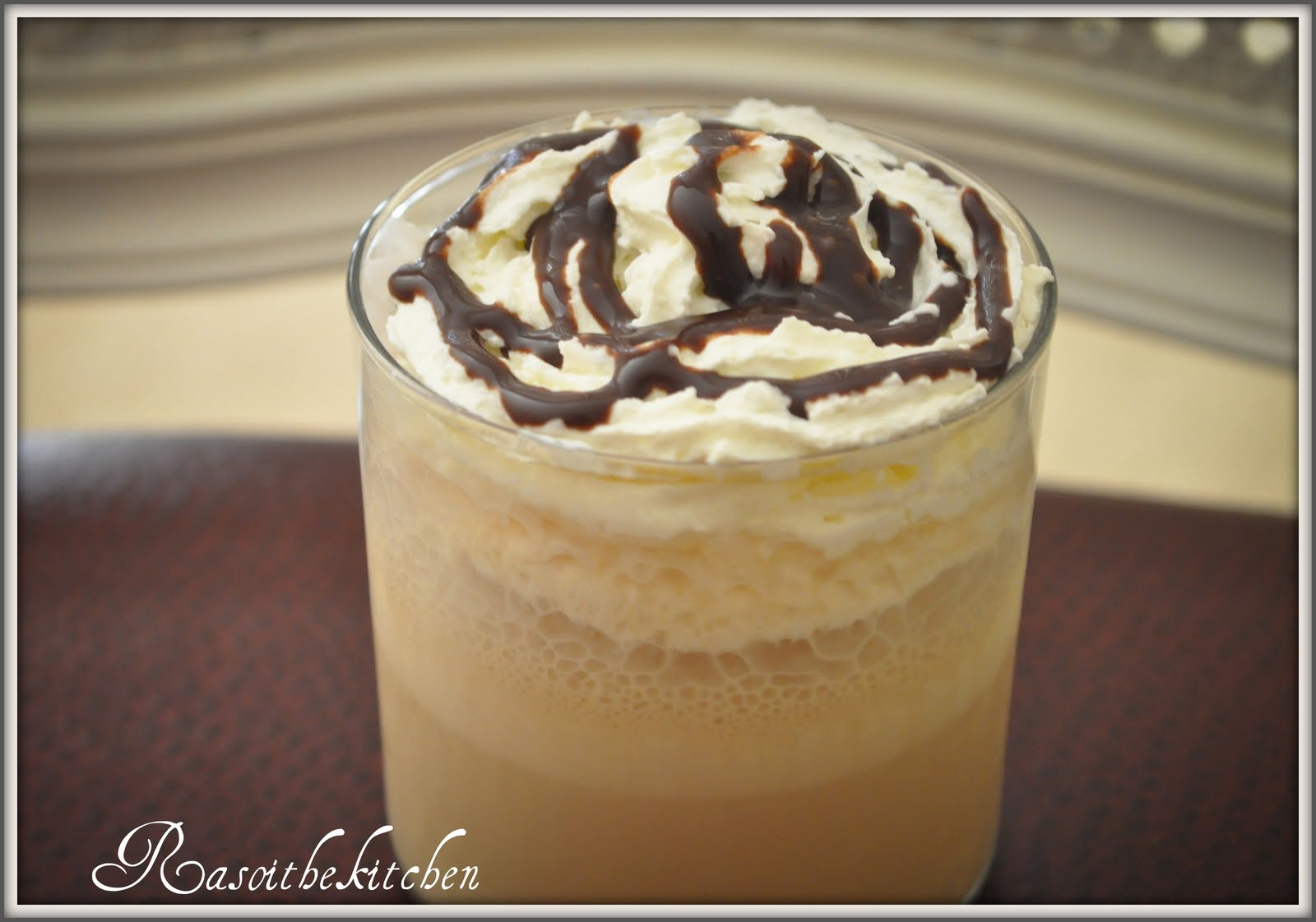 how to make a coffee frappuccino