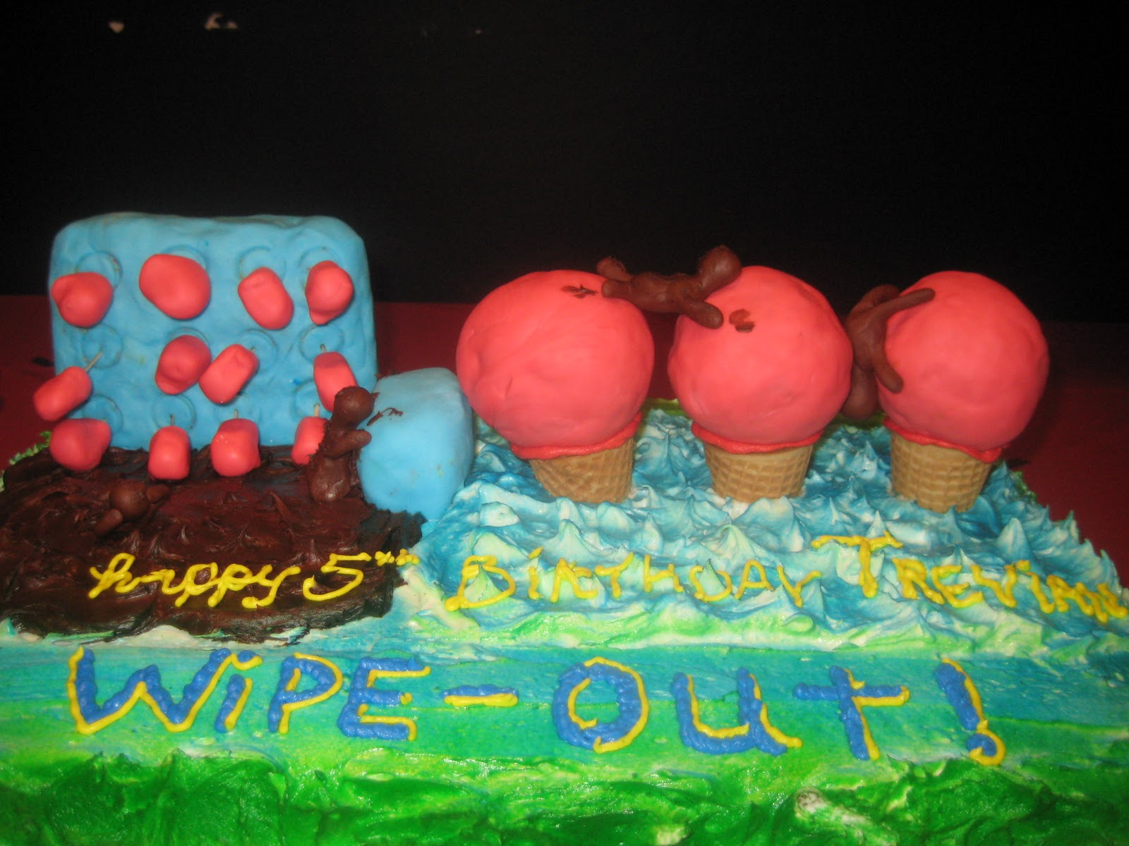 Viva Sixten Wipeout Birthday Party