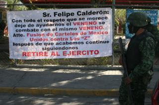 Mexican Cartels United Against The Zetas Are Calling For The Military
