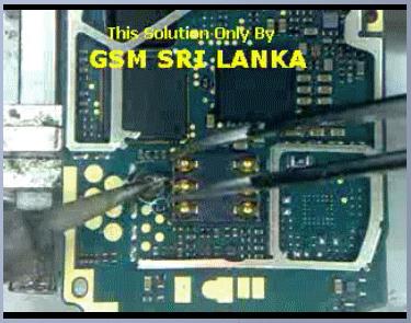 Nokia 1650 1200 1208 1209 Sim Ic Jumper Solution Nokia 1208 1200