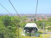 Teleférico no Parque da cidade