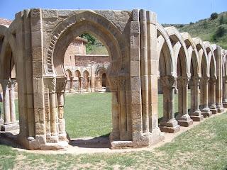 Arcos de San Juan de Duero en la ciudad de Soria
