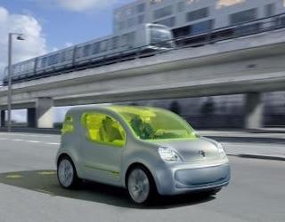 Imagen vehículo eléctrico de Navarra Innova