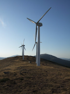 Parque Eólico en Sierra del Madero. Ólvega (Soria)