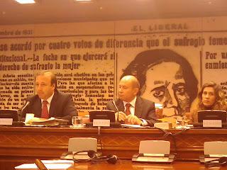 Joan Mesquida, Secretario Estado Turismo en el Senado. Foto Félix Lavilla