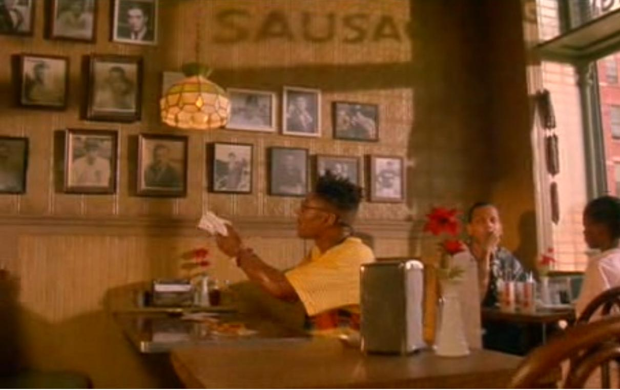 an analysis of the characters in a film about sal his family and his pizzeria Why do you think mookie threw a trash can into sal's pizzeria window in 'do the right thing  but more about what sal and his pizzeria represented,.