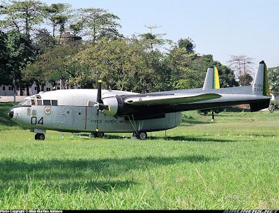 Os vagoes da Força Aérea Brasileira C119G+FAB