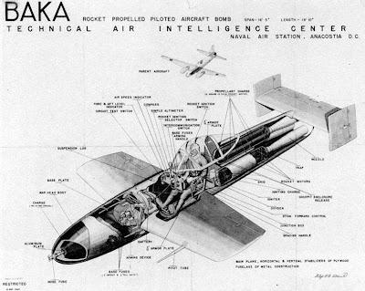 Yokosuka Ohka: o avião-foguete kamikaze japonês  Ohka_Baka