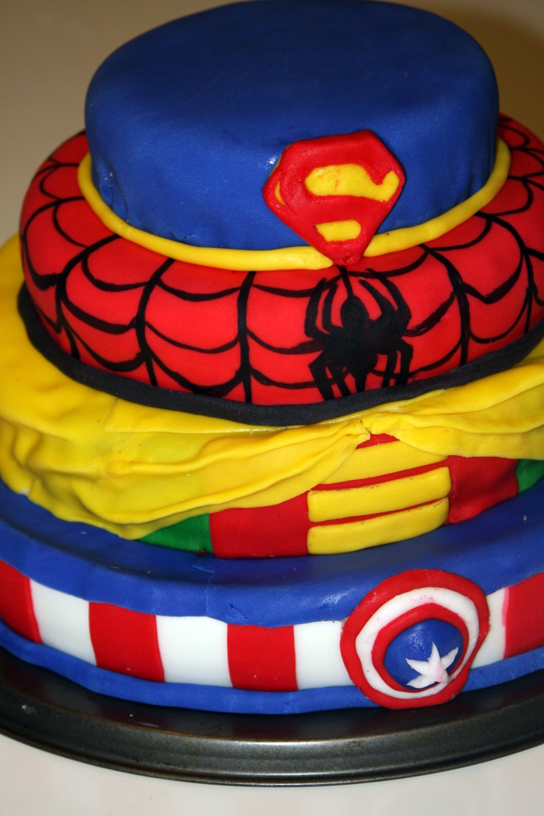 Life Frosting Robbies Comic Superhero Party