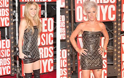 Shakira vs. Pink... an old battle, but only interesting bc check out the pic below....