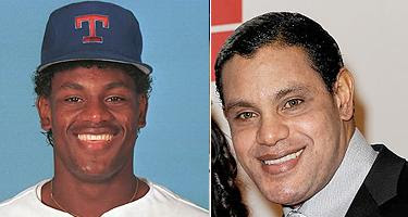 Sammy Sosa.  In technicolor, and apparently, now.