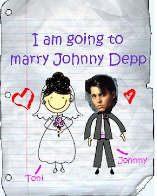 Mr. & Mrs. Johnny Depp.