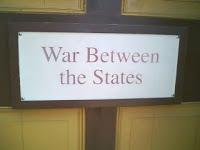 Civil War Sign