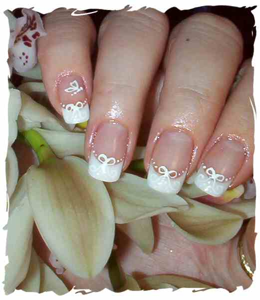 Wedding Nail Design