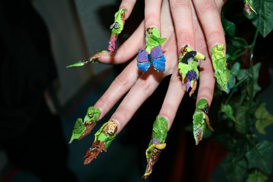 Crazy Nail Designs