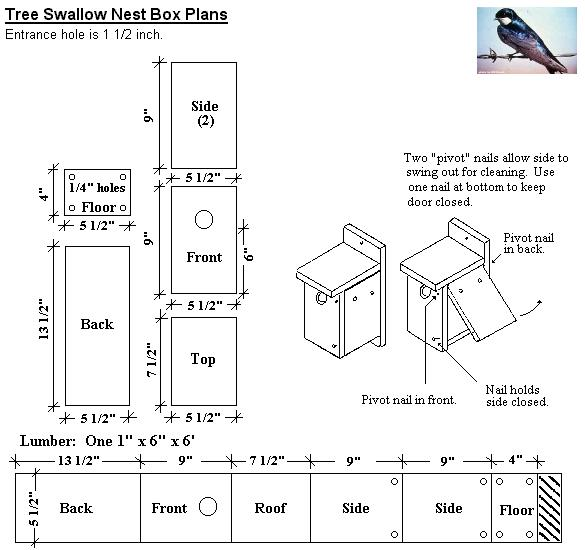 Tree Swallow Houses 32