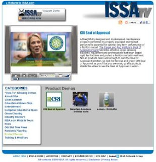 Bethany Richmond, CRI, on ISSA TV