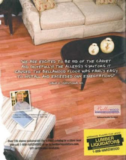 Lumber Liquidators Ad: Wrong About Carpet