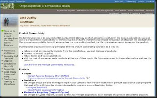 Oregon Dept. of Environmental Quality