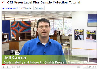 CRI Green Label Plus Carpet Collection Video Tutorial