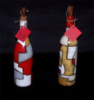 Botellas de arte