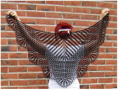 beauty shawl to knit