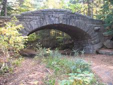Carriage road bridge in Acadia.