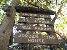 'round the lake we went!