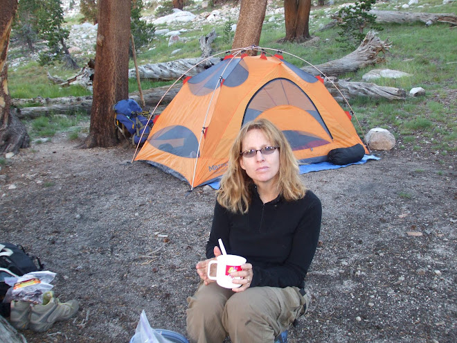 camping 160 mile hike