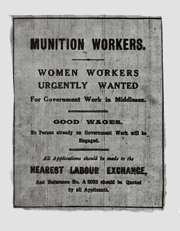 Newspaper Ads during WW1
