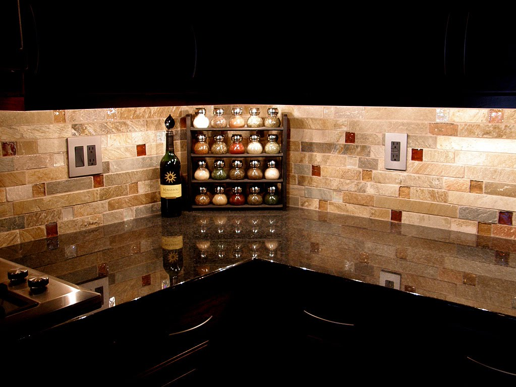 Backsplash tile emily ann interiors Stone backsplash tile