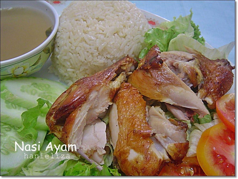 Resepi Nasi Ayam Salad
