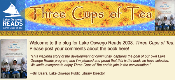 Lake Oswego Reads 2008