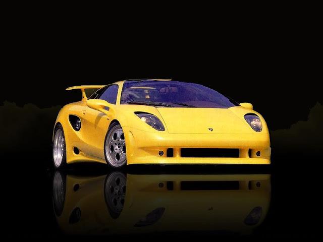 Front Lamborghini Cala Wallpaper