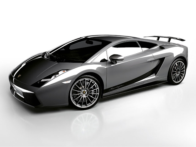 Silver Lamborghini Gallardo Wallpaper