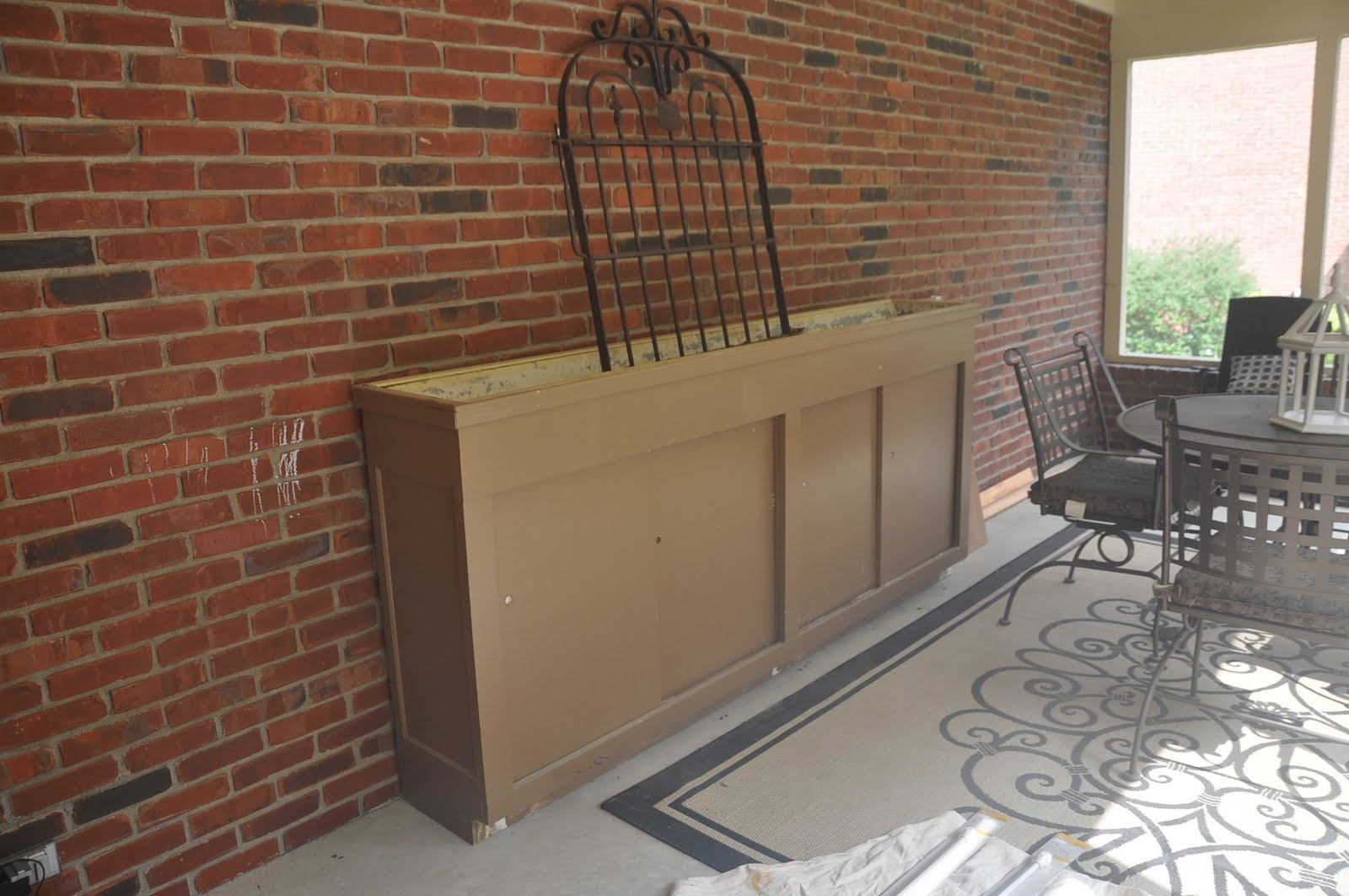 ballard designs outlet meets craigslist potting bench